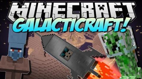 Minecraft GALACTICRAFT! (The Moon, Space Stations & More!) Mod Showcase 1.6.2