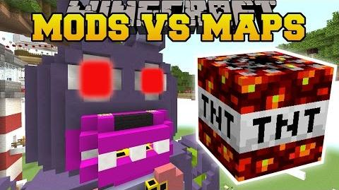 Minecraft- TOO MUCH TNT DESTROYS FIVE NIGHTS AT FREDDY'S!!!