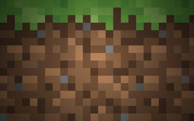Minecraft Dirt Wallpaper