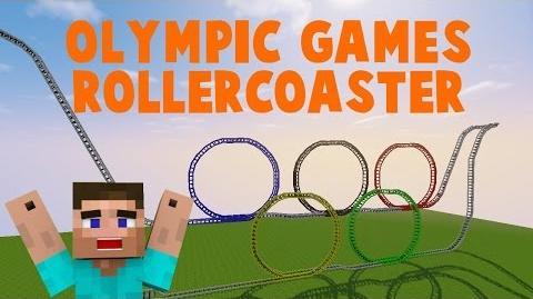 Video Minecraft Olympische Spiele Achterbahn MineCoaster By - Minecraft tnt spielen