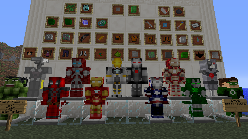 Lahsa's Super Heroes Mod | Minecraft Mods Wiki | FANDOM