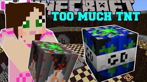 Minecraft- WORLD ENDING TNT (GLOBAL DISASTER TNT!) Mod Showcase