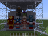 Superheroes in Minecraft