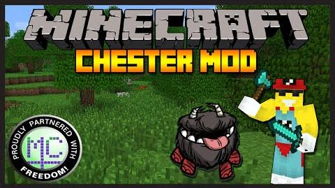 Minecraft Mod Review Chester Mod HE'S SO CUTE! (1.7