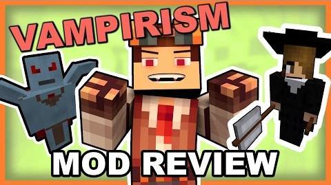 Vampirism Mod • Turn Into a Vampire or a Vampire Hunter!! • Minecraft Vampirism Mod Review-0