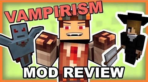Vampirism Mod • Turn Into a Vampire or a Vampire Hunter!! • Minecraft Vampirism Mod Review-0