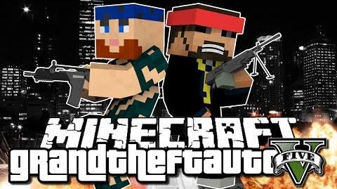 Minecraft Grand Theft Auto Mod - IT ALL STARTS HERE (GTA 5)