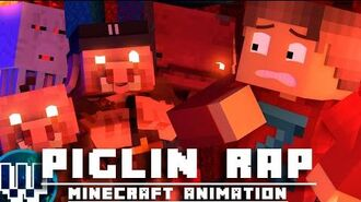 """We're The Piglin"" PIGLIN RAP Minecraft Animated Music Video ( SystemZee )"