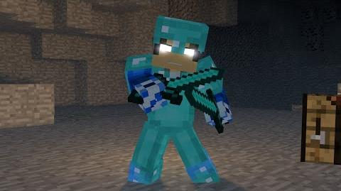 """♬""""Crafted"""" - Minecraft Parody of Perfect by One Direction ♬"""