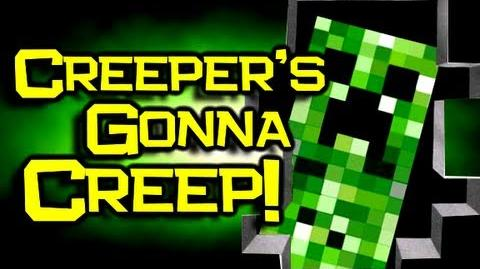 "♪ ""Creepers Gonna Creep"" Song - Minecraft Original Song & Music Video"