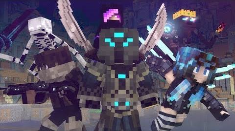 """Goodbye"" - A Minecraft Original Music Video ♪"