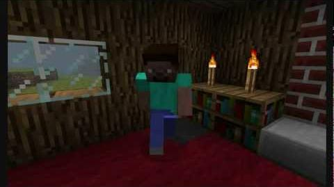 """""""It's Herobrine"""" - Song and video as a tribute to Herobrine"""