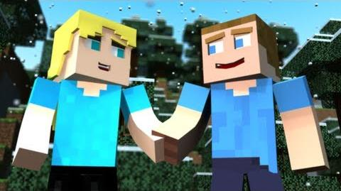 "♫ ""Before Monsters Come"" - A Minecraft Parody of One Direction's Live While We're Young"