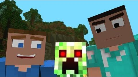 "♫ ""Creepers are Terrible"" - A Minecraft Parody of One Direction's What Makes You Beautiful"