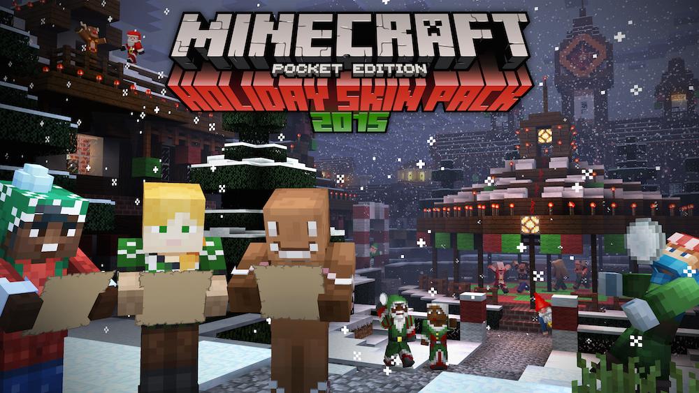 Image Festive Skin Pack Splash Smalljpg Minecraft Pocket - Skins para minecraft pe yugioh