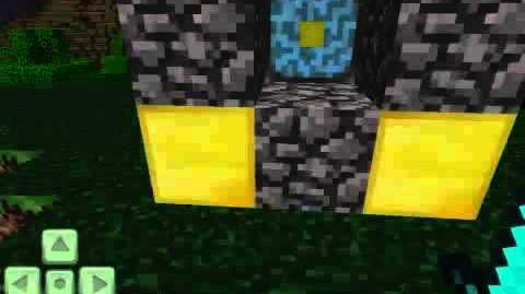 Minecraft PE Nether Reactor Pattern!