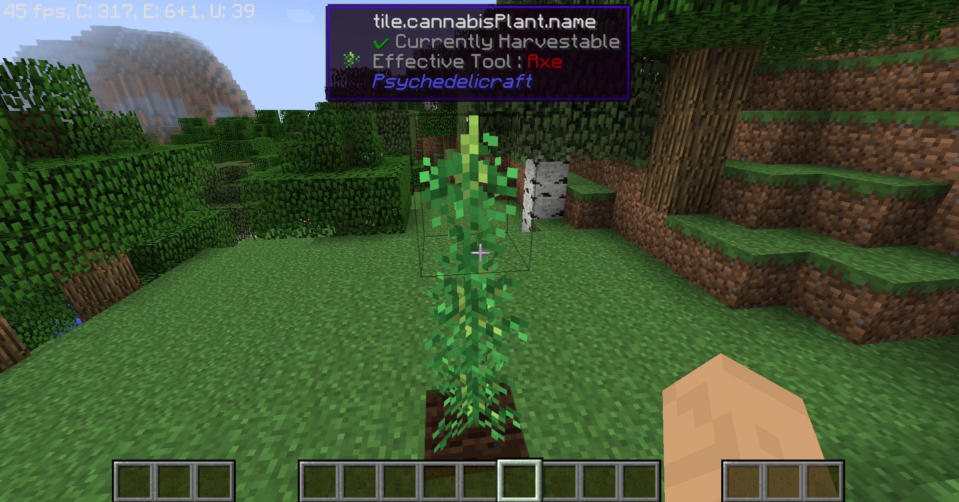 minecraft weed