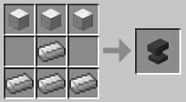 Minecraft Anvil Recipe
