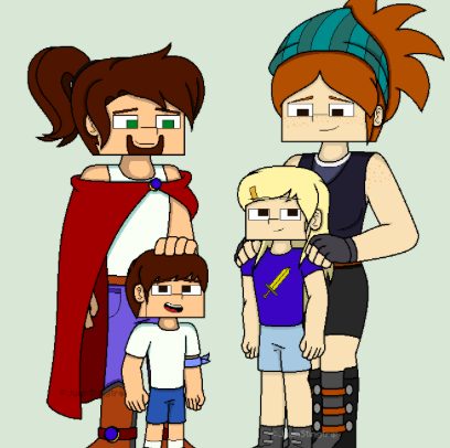 Jesse And Petras Family Minecraft Story Mode Fan Fiction