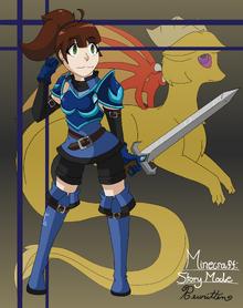 Nikki minecraft story mode rewritten by kirbyyoukai1514-dbrwrah