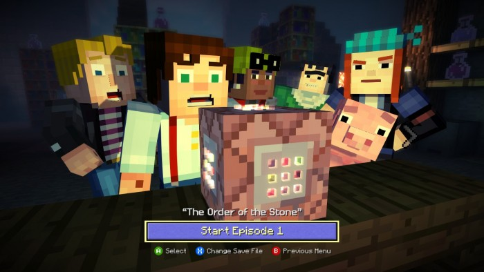 Episode 1 The Order Of The Stone Rewritten Edition Minecraft