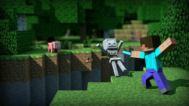File:Minecraft-battle-desktop-background.jpg