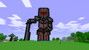 Minecraft pixel knight by cipurs-d45xgj5