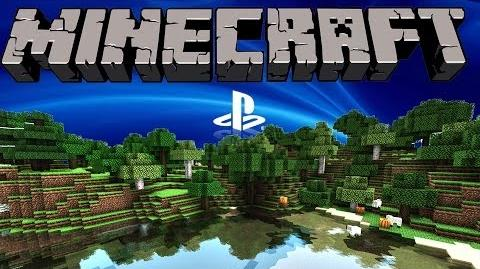 Minecraft PS3 Gameplay