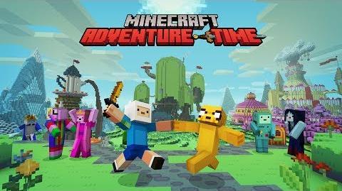 Minecraft Adventure Time Mash-Up pack!