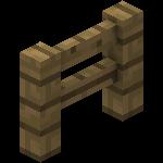 Barrière en bois de chêne