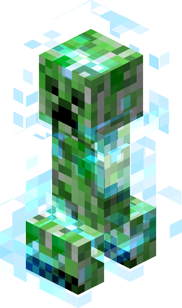 Creeper minecraft wiki fandom powered by wikia if struck with lightning a creeper will become a charged creeper charged creepers are stronger and they have a larger blast radius than a normal voltagebd Image collections