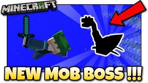 Minecraft - NEW MOB BOSS! More Update Aquatic Items! Java Console Bedrock
