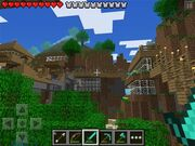Minecraft PE survie
