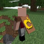 Notch With Mojang Cape