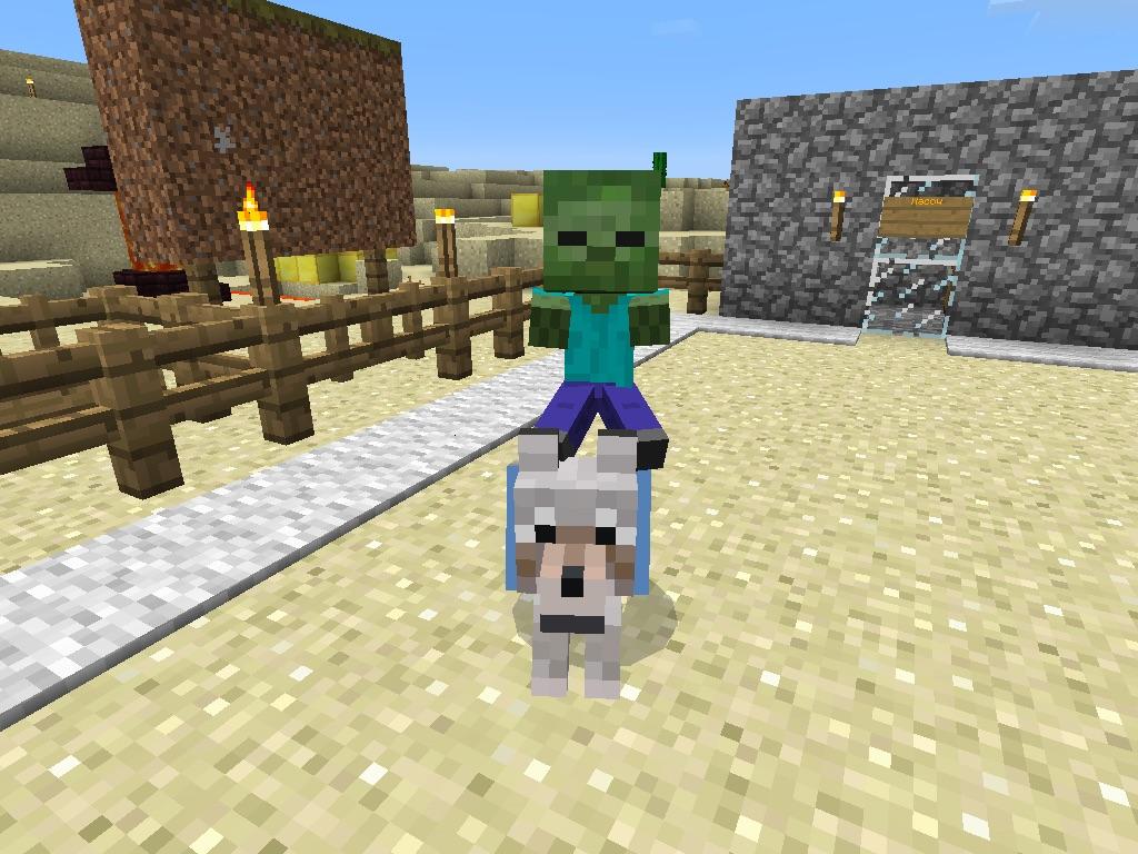 Baby Zombie Pigman Jockey  Ilmu Pengetahuan 12