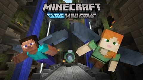 Minecraft Glide Mini Game trailer - coming free to Console Edition!