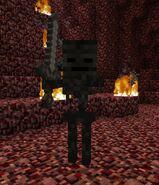 Nether mroczny szkielet