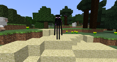 EndermanInOverworld