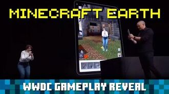 Minecraft Earth Apple WWDC Gameplay Reveal