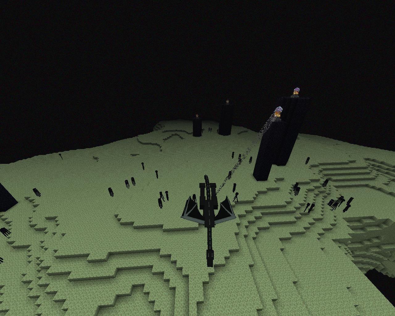 The end minecraft wiki fandom powered by wikia enderdragon healed sciox Gallery