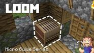 Loom - Minecraft Micro Guide