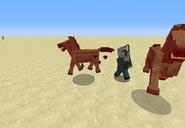 Hurt Zombie Horse