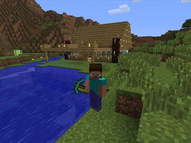 Survival Game Mode Minecraft Wiki FANDOM Powered By Wikia - Minecraft hunger games auf deutsch