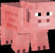 Minecraft Classic Świnia