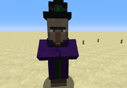 Witch between a base