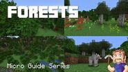 Forests - Minecraft Micro Guide