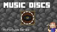 Music Discs - Minecraft Micro Guide