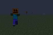 Zombie z dynią