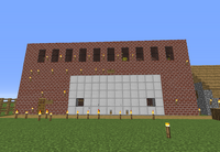 Fire Station Built In Creative Mode