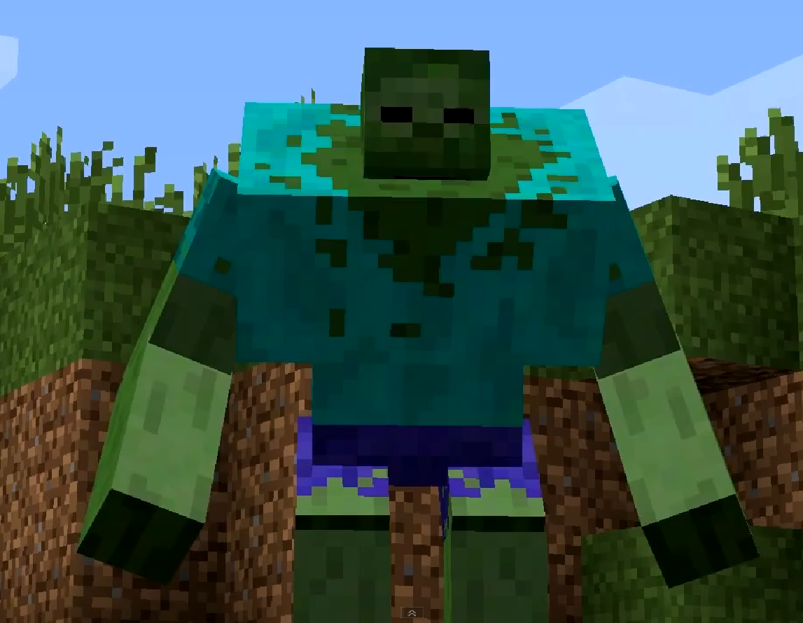 Image minecraft wiki fandom powered - Zombie style minecraft ...